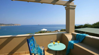 blue sea villa monambeles balcony view