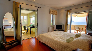 blue sea villa monambeles bedroom