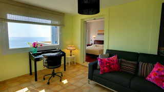 blue sea villa monambeles room