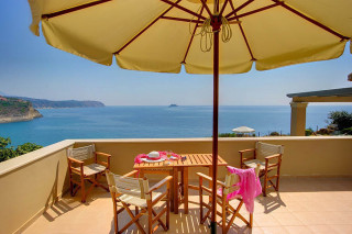 blue sea villa monambeles sea view