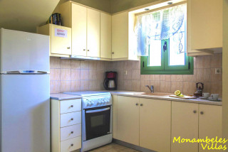 cleo villa monambeles equipped kitchen