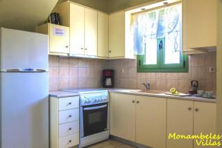 cleo villa monambeles equipped kitchen