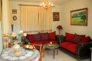 cleo villa monambeles living room